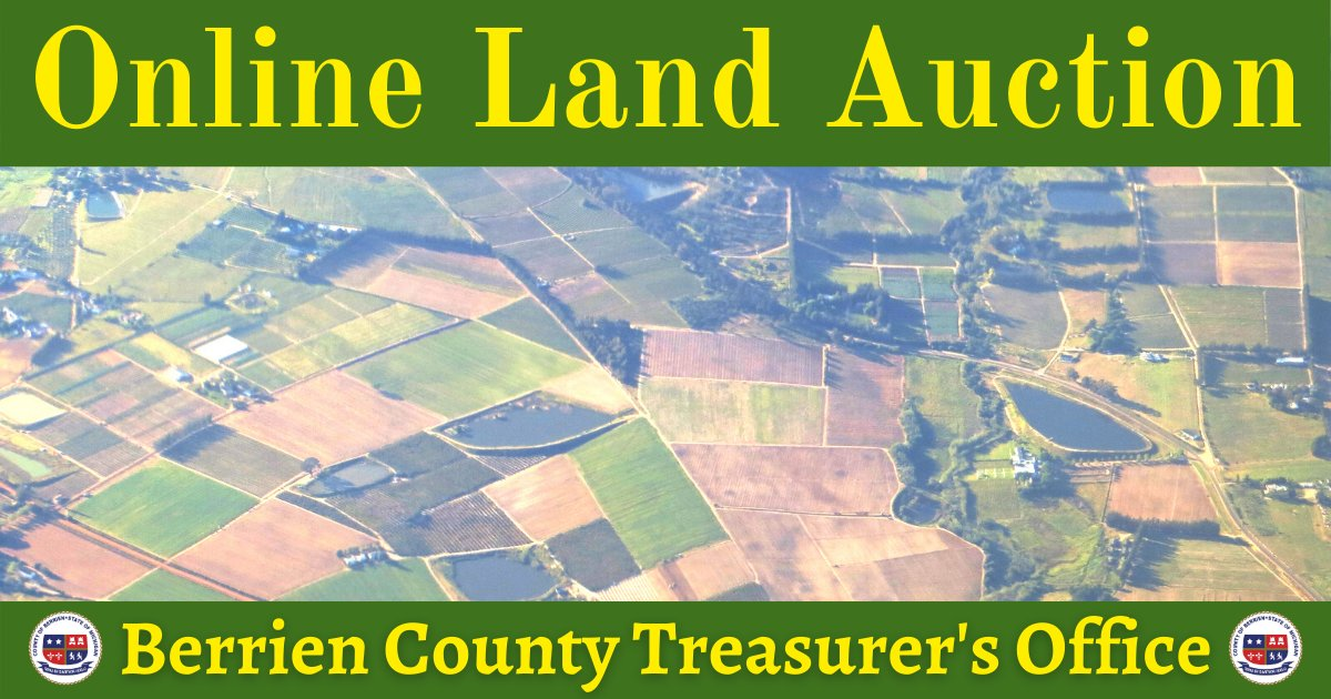 Just one week away - Don't miss the Online Land Auction September 26th 10:00 a.m. - 7:00 p.m.  Learn more and see a list of properties here: