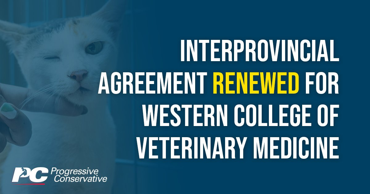 test Twitter Media - This agreement helps to ensure that Western Canada has a steady supply of veterinarians.   Learn more: https://t.co/9wKlJWAF7F   #mbpoli #MovingManitobaForward https://t.co/qwDc7pxM27