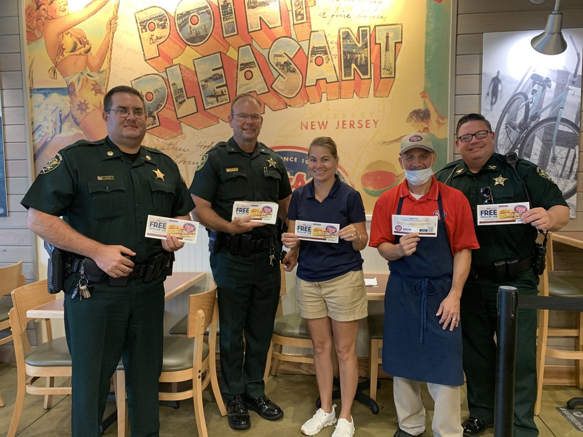Thank you to Krissy Culbreth, owner of @jerseymikes  in Sebring, for donating gift certificates to all of our members! We can't wait to use them for some delicious subs!