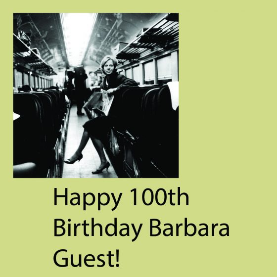 test Twitter Media - This week, we are celebrating what would have been poet Barbara Guest's 100th birthday. Head to our blog (link in bio) for more on Guest! https://t.co/iZalpAx0V3