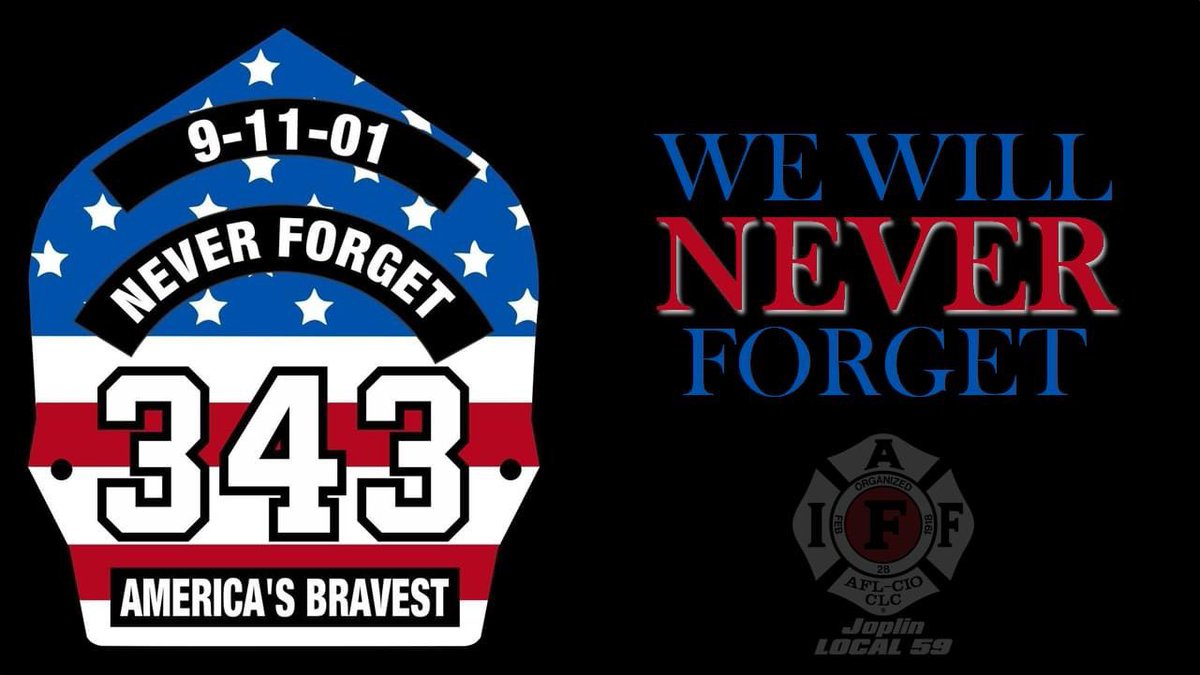 We will Never Forget! #FDNY #NeverForget #911Memorial #IAFF #PatriotDay