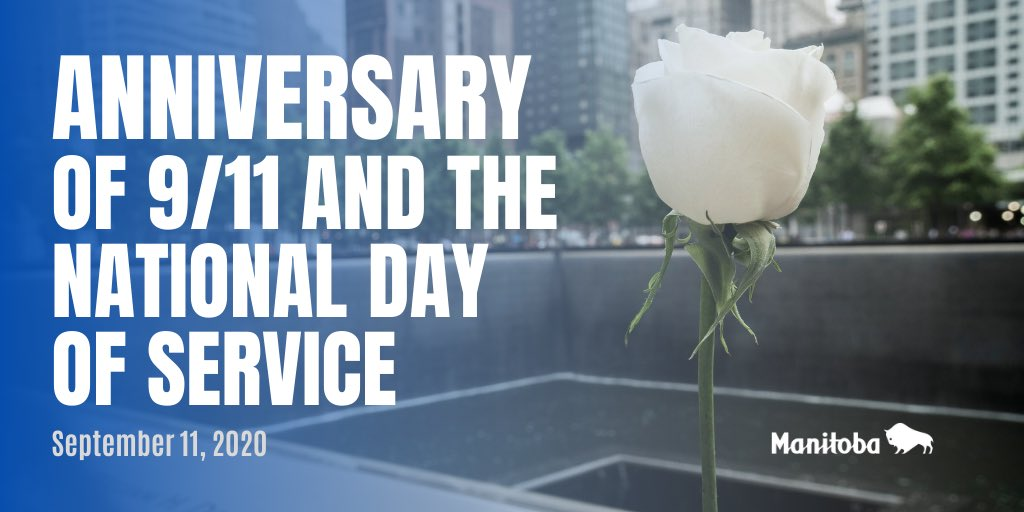 test Twitter Media - Time may pass but we will #NeverForget those who lost their lives on 9/11. We pay tribute to the heroism and bravery of the first responders who selflessly risked their lives for others and thank those who continue to serve. #NationalDayofService https://t.co/3fJBZZ5ZnK