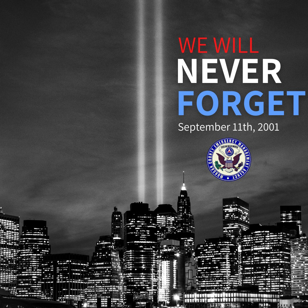 Remembering all those who were affected by the tragic events on 9/11/2001.