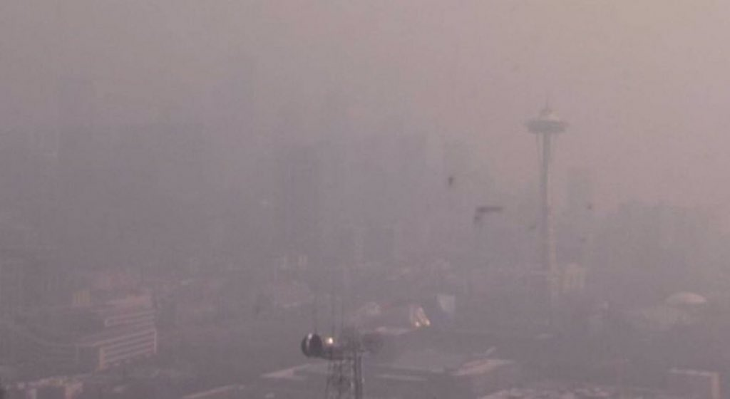 test Twitter Media - Today Seattle has the worst air quality in the world due to wildfires. I hope I will be able to see enough on the roads to drive home from Easter Wa tomorrow.#wildfires #smokeseattle https://t.co/qgacnIfA89