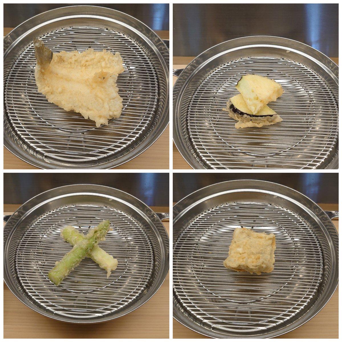 test ツイッターメディア - ある程度年を経ると、美味しいものがわかると同時に、量が食べれなくなってくる…今日学んだことでした(^_^;) 天ぷらには日本酒の立山がピッタリでした。食中酒として食材の味を引き立ててくれます✨ うう、夕飯食べれないかも😭 https://t.co/apbcnbLgby