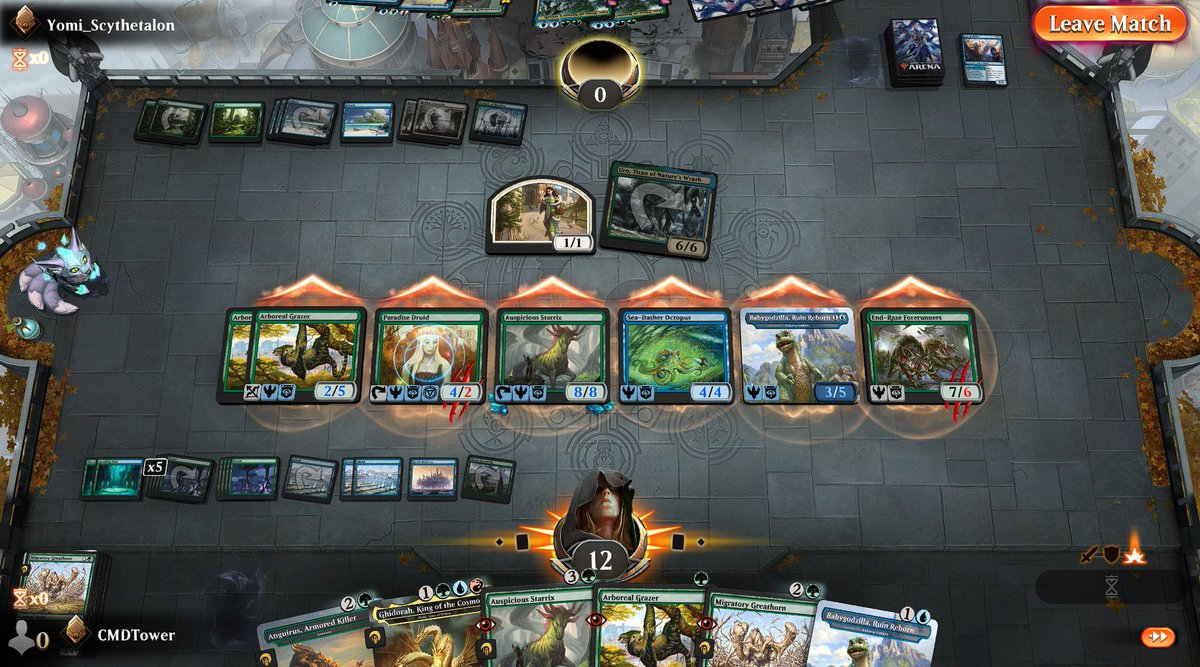 test Twitter Media - Zero cards left and just enough damage to kill them. Mutate is a fun mechanic. https://t.co/0hqgTfeUrd