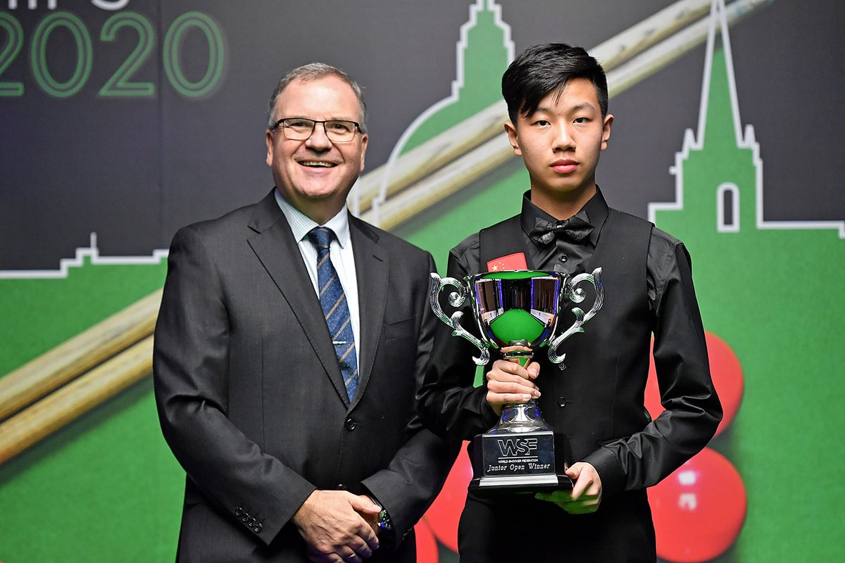 test Twitter Media - Wishing our reigning WSF Junior Open champion Gao Yang well today as he begins his first tournament as a professional at the BetVictor Championship League! 🇨🇳 https://t.co/t5AmWcsjU8