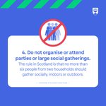 RT @dundeeuni: 4. Do not organise or attend parties or large social gatherings https://t.co/jaAd2Lgwh6