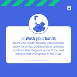 RT @dundeeuni: 3. Wash your hands https://t.co/rLkOi2SIB5