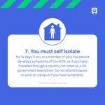 RT @dundeeuni: 7. Self isolate https://t.co/aQWiMsafIJ