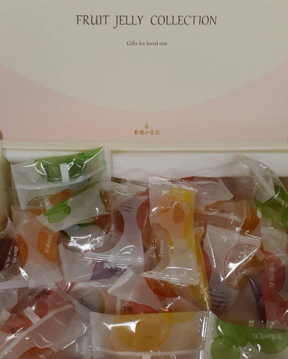 test ツイッターメディア - スタッフからのお土産!出身地が異なる 人が多めの職場なので、色々なご当地の 物を食べることが出来ます! 今回は、彩果の宝石!  #マルハン #マルハン厚別 #彩果の宝石 https://t.co/N2peen3beU