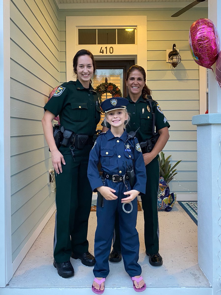 Now that's a picture! Happy 9th Birthday to this future Deputy... or Officer. (but hopefully deputy) 🙂