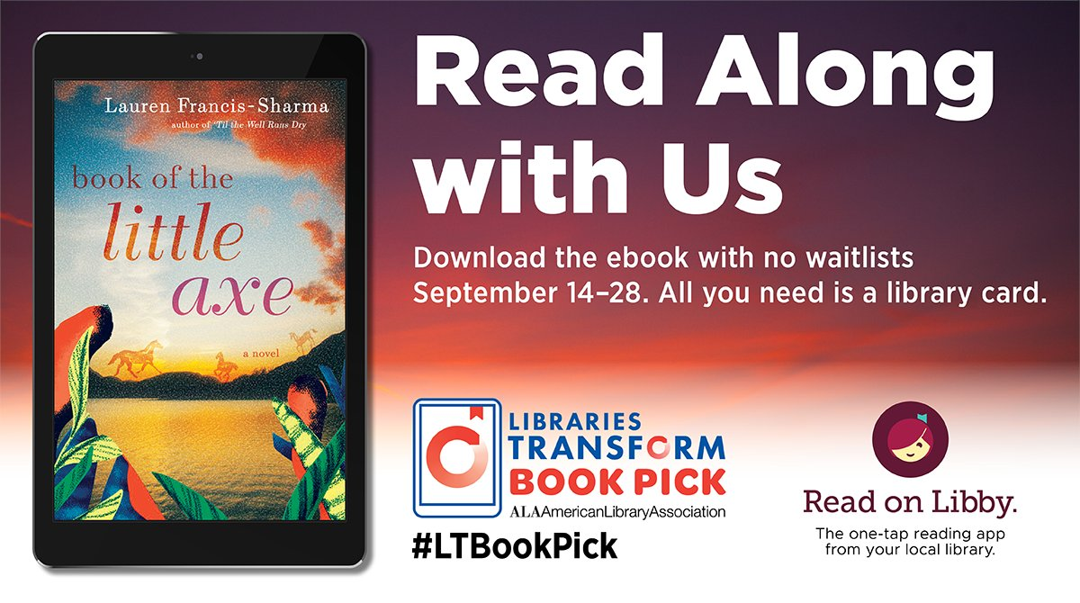 Join us for virtual book discussions held on Tues., Sept 22nd at 11 a.m. & Wed., Sept 23rd at 6 p.m. You can download a book through Overdrive with no waitlist or you can check out a copy of the book from KPL. To Zoom invitation to the discussions go to
