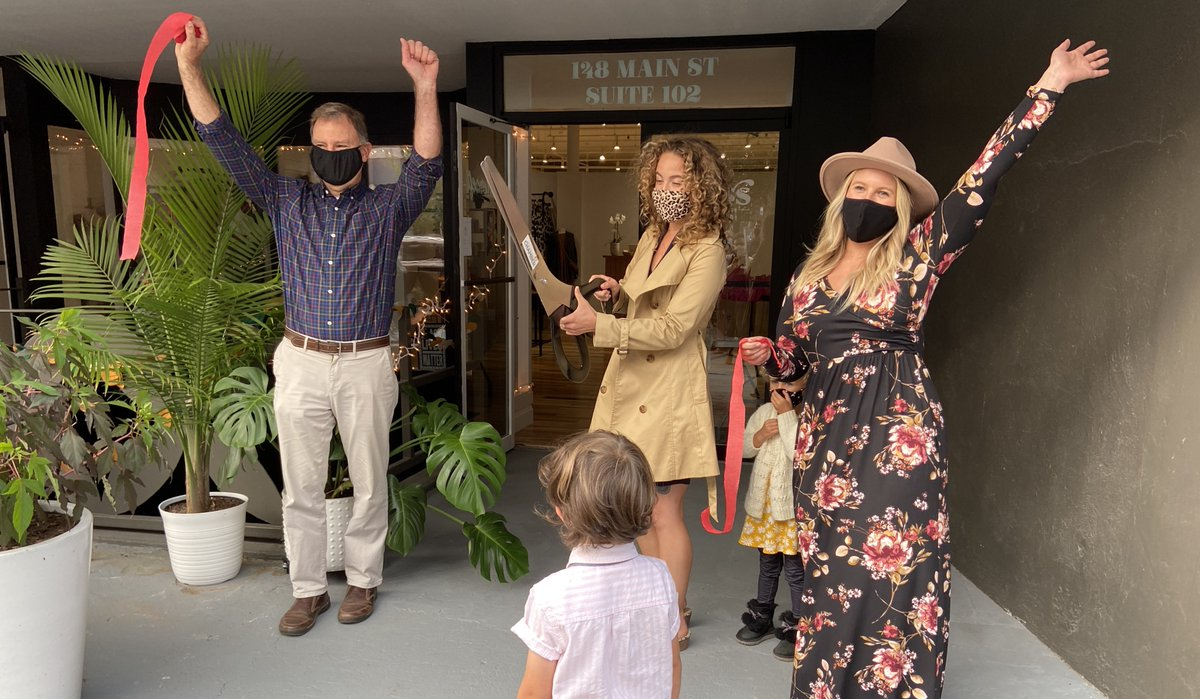 The Biddeford Saco Chamber of Commerce held a ribbon cutting yesterday to welcome another two additions to the Main Street business community. Please welcome Eastcraeft and Gloss Hair Parlor to their shared location at 148 Main Street!