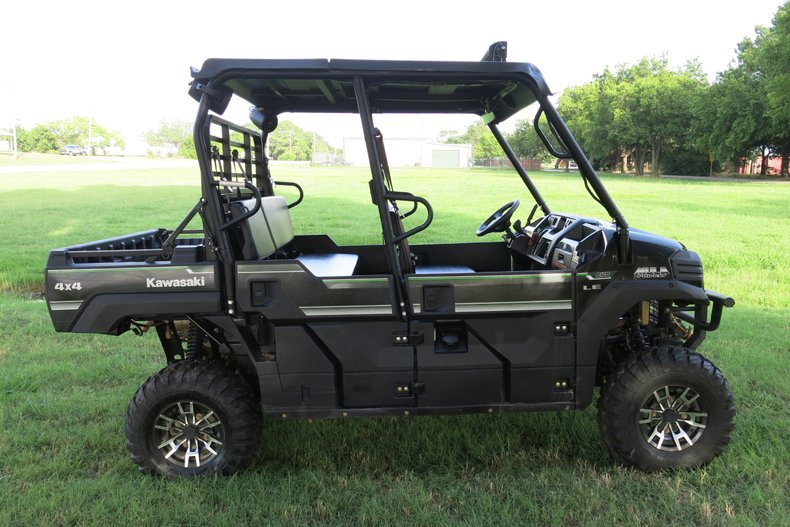 BCSO is asking for help with any information regarding the 2 pictured stolen items  -Kawasaki Mule Black w/green stripe, aftermarket LED, hard plastic roof -2 Stihl Farm boss chainsaws Contact Brazos Co. Sheriff's Office Investigator J. Ostiguin (979)361-4955 with any information
