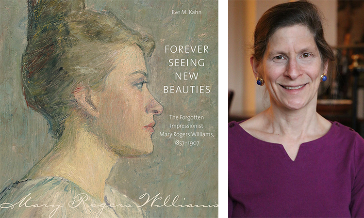 """test Twitter Media - Don't miss out! Sign up for Eve Kahn's 10/14 event at Boston Design Week. Former New York Times Antiques columnist presents on her book """"Forever Seeing New Beauties: The Forgotten Impressionist Mary Rogers Williams."""" https://t.co/NlG8lQcC8B https://t.co/HtmIutztUk"""