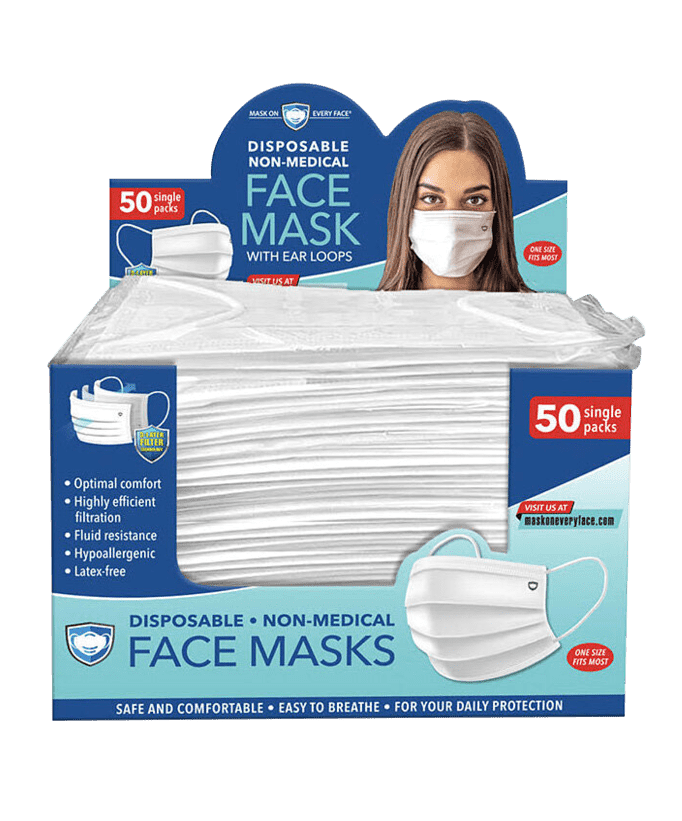 #DealAlert: 50 Individually Wrapped Face Masks $12 shipped! 😷