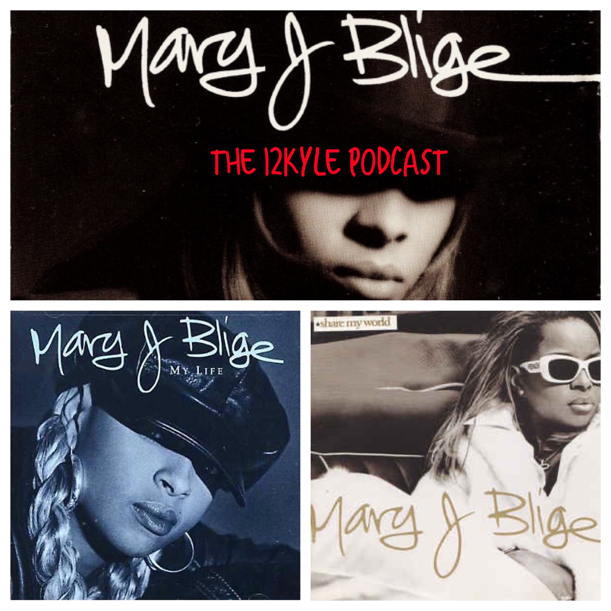 "On this week's episode of the @12kylepodcast we will talk about Mary J Blige's ""3Peat"" of consecutive ""championship"" albums. Her first 3 albums (What's the 411?, My Life, and Share My World) helped establish her as one of the greats from her era. 👇🏿next tweet... https://t.co/xFVj82L3V6"