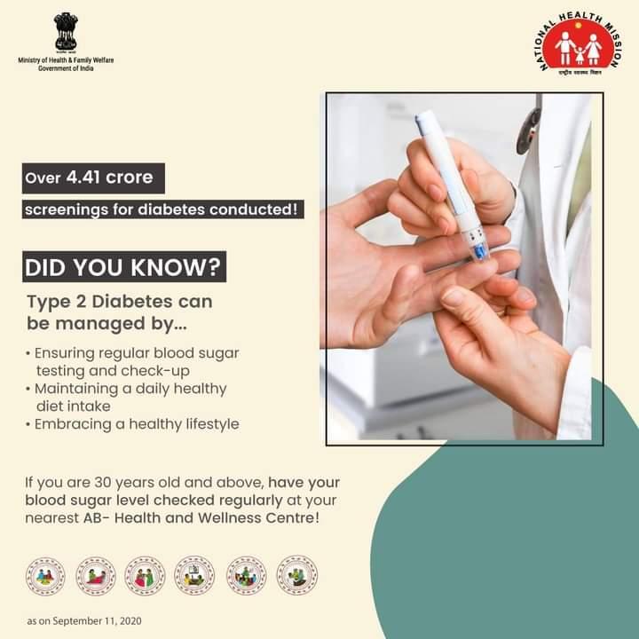 test Twitter Media - Know various ways of managing #Type2 #diabetes.  For more information about Type 2 diabetes, visit your nearest #AB_HealthAndWellnessCentre  #SehatSeSafalta #SwasthaBharat https://t.co/nJpGlNxBF3
