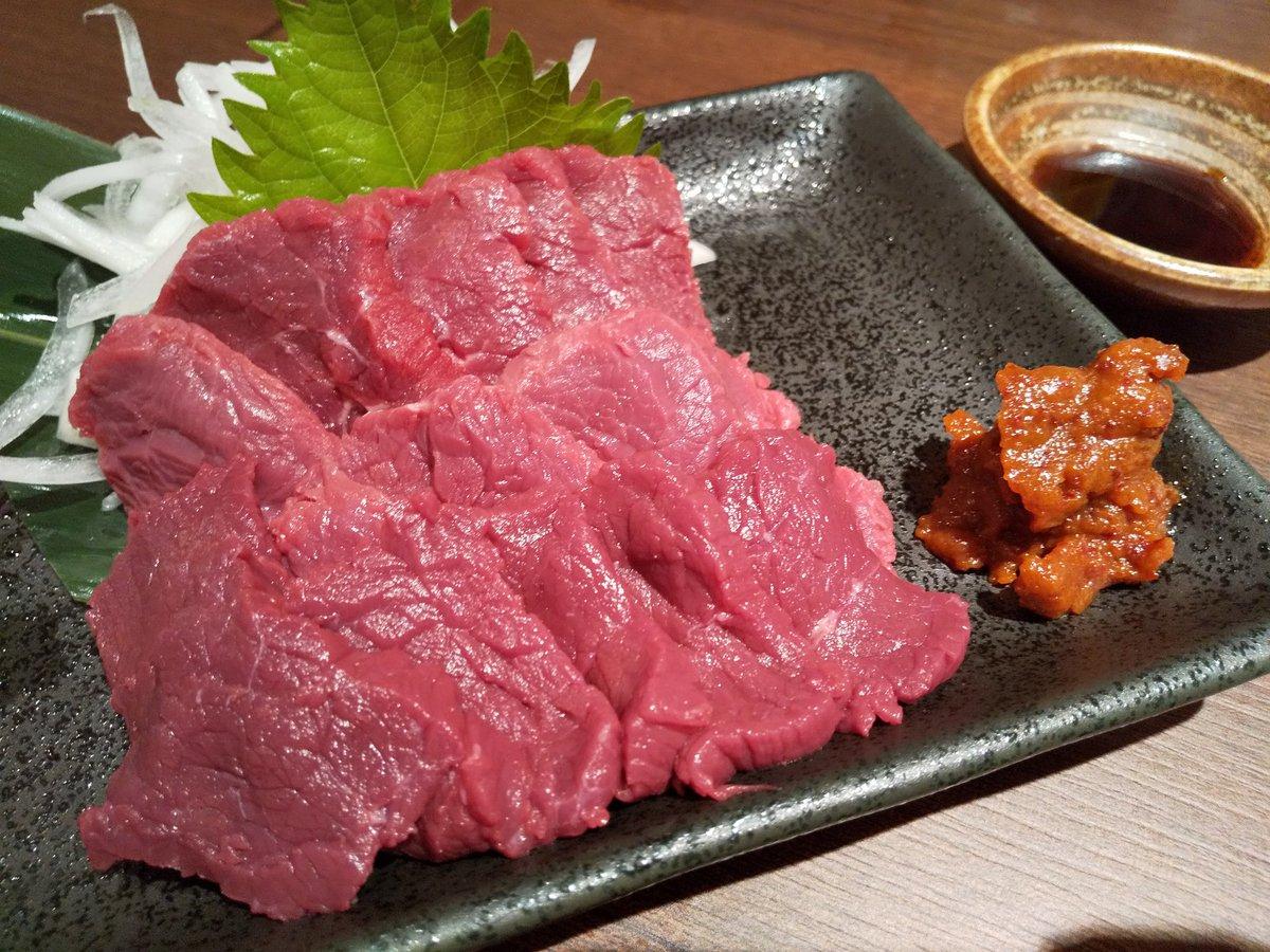 test ツイッターメディア - 会津馬刺と焼鳥と牡蠣と日本酒亀齢でお疲れさま〜🍶 https://t.co/cWujwMCrwK