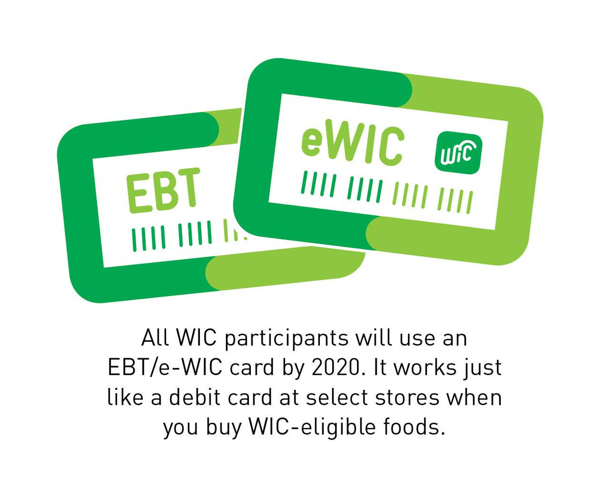 WIC Benefits Now Available Through EBT Card 💳 Statewide.  This new system creates faster transactions at the register and automatic payments to vendors. Learn more: