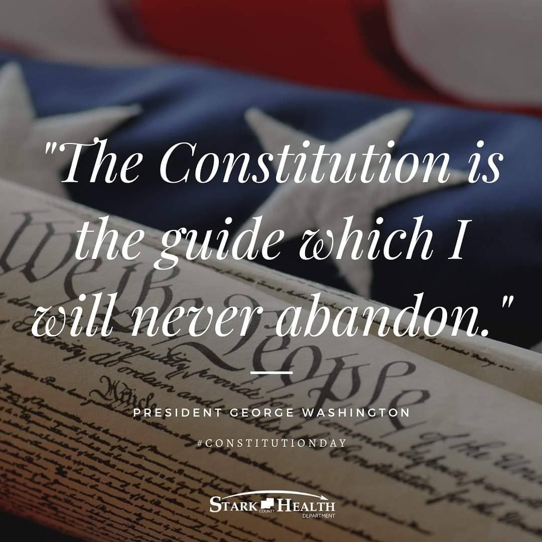 This day commemorates the adoption of the #Constitution and new #uscitizens. On this day in 1787, members of the U.S. Constitutional Convention signed the Constitution. Test your knowledge of the document and post your results in the comments: