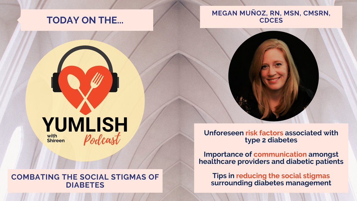 test Twitter Media - 🎧 On this week's Yumlish podcast we feature Megan Muñoz, the creator and host of Type 2 and You with Meg, the first podcast by a certified #diabetes care & education specialist dedicated to people living with #type2.   See what she will chat about below! 🔽  #health #nutrition https://t.co/sPLXpA58CH