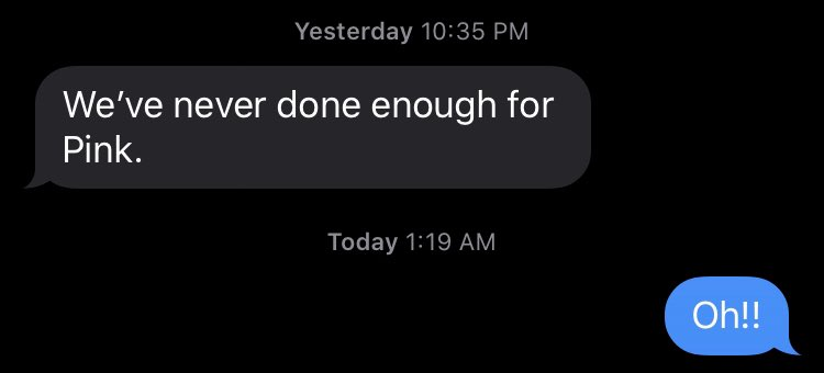 Texts with @justinkirkland4.