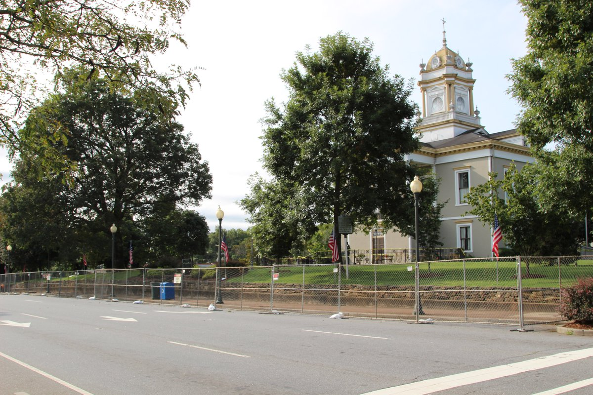 Renovations to the Historic Burke County Courthouse Square began this week, as contractors completed demolition of the Jailhouse Gallery. Read more: