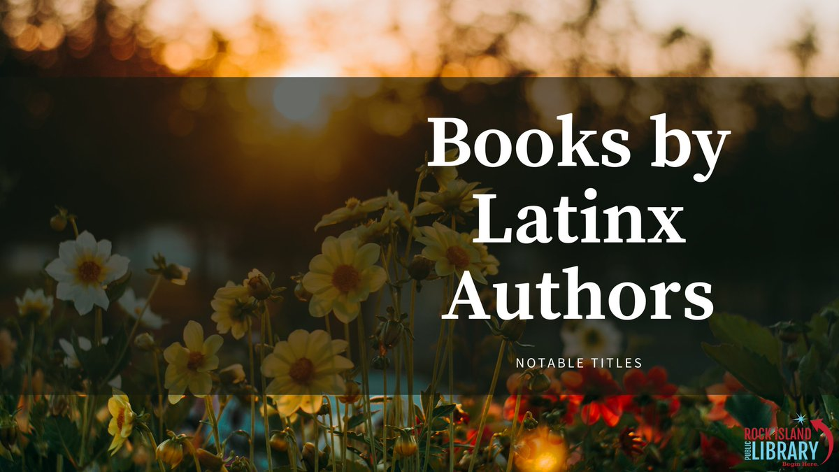 Looking for something to read next? Check out our reading blog for a list of titles by Latinx authors! #LatinxHeritageMonth