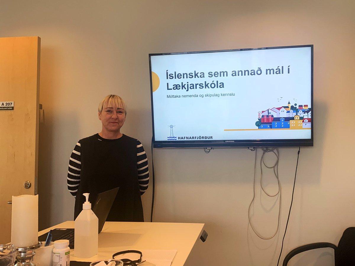 test Twitter Media - 🌟Flott heimsókn i Lækjarskóla í dag 🤗 #hafskoli #menntaspjall https://t.co/RPKLPeSIJF