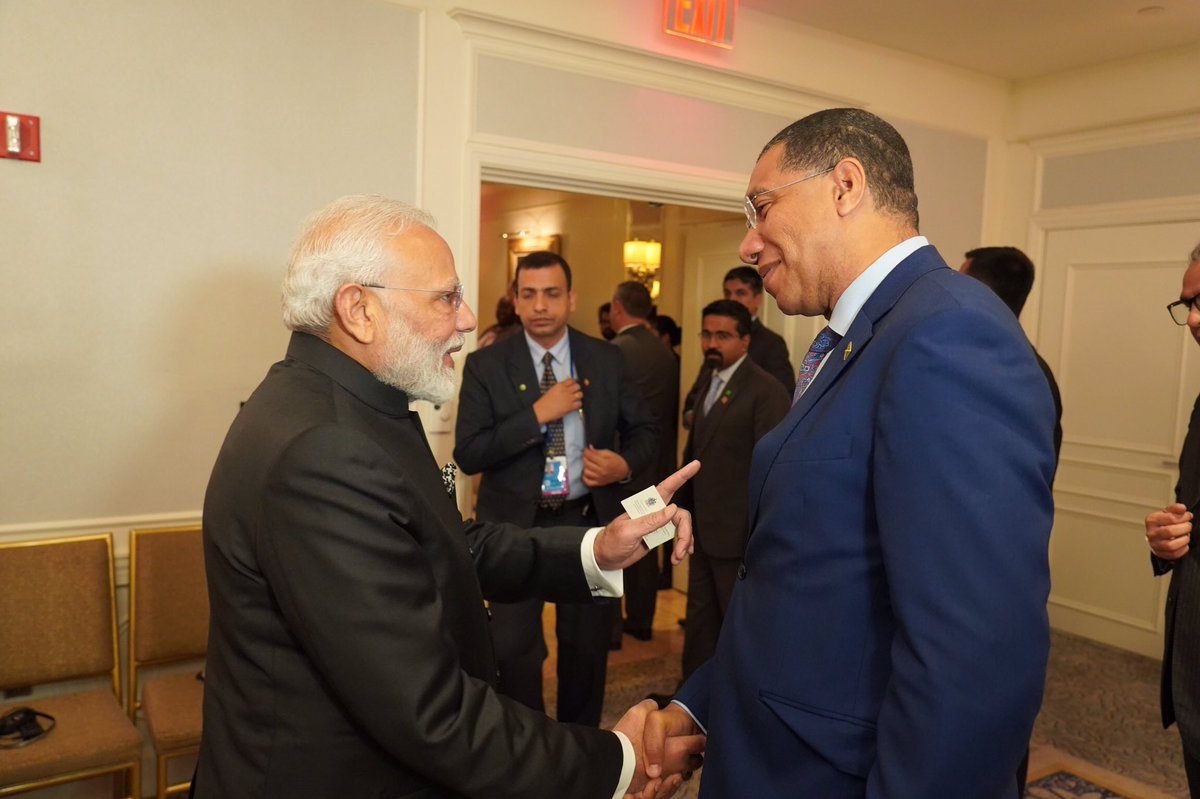 Wishing the Honourable @narendramodi, Prime Minister of India, a very happy birthday and many more to come!