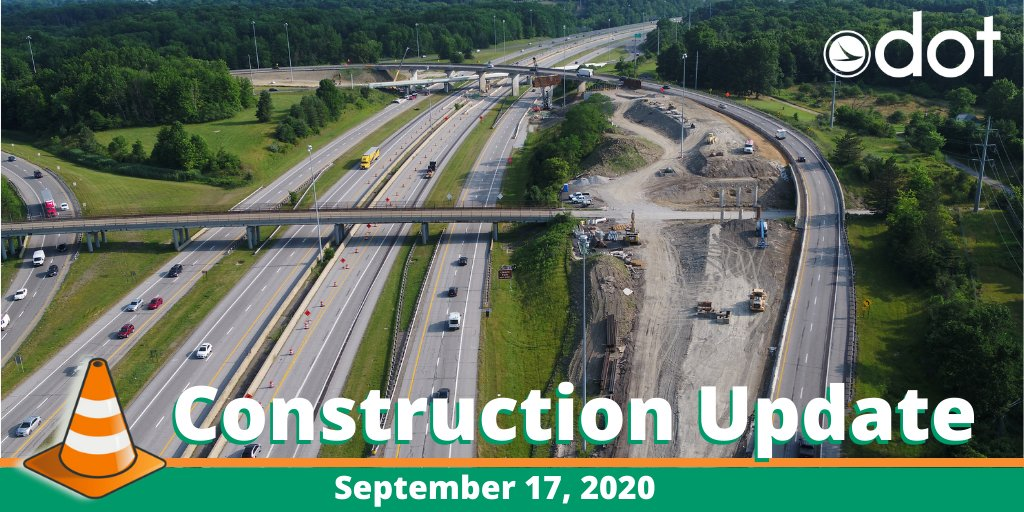 ODOT D12 Construction Update for September 17.  ✅ Chagrin Blvd west to I-271 south to CLOSE Friday night ✅ Lake Cty: Work on SR 44 to start Mon ✅ Geauga Cty: SR 44 btwn Butternut & Merritt to CLOSE Mon  Learn more about all the D12 projects going on at: