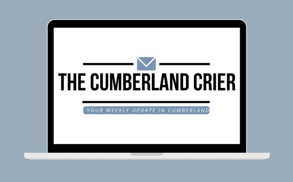 Don't miss this week's edition of The Cumberland Crier! 📧