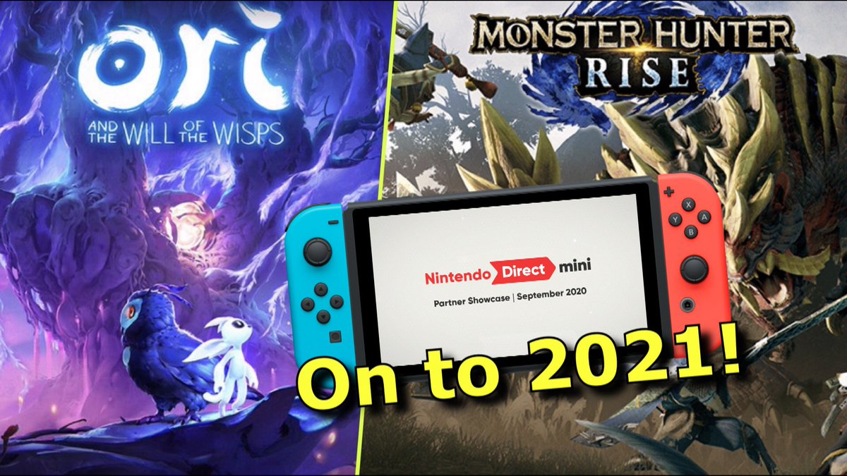 Nintendo shifts focus to 2021 with a solid Nintendo Direct Partner Presentation!  WATCH HERE:   #NintendoDirectMini #NintendoDirect #MonsterHunterRise
