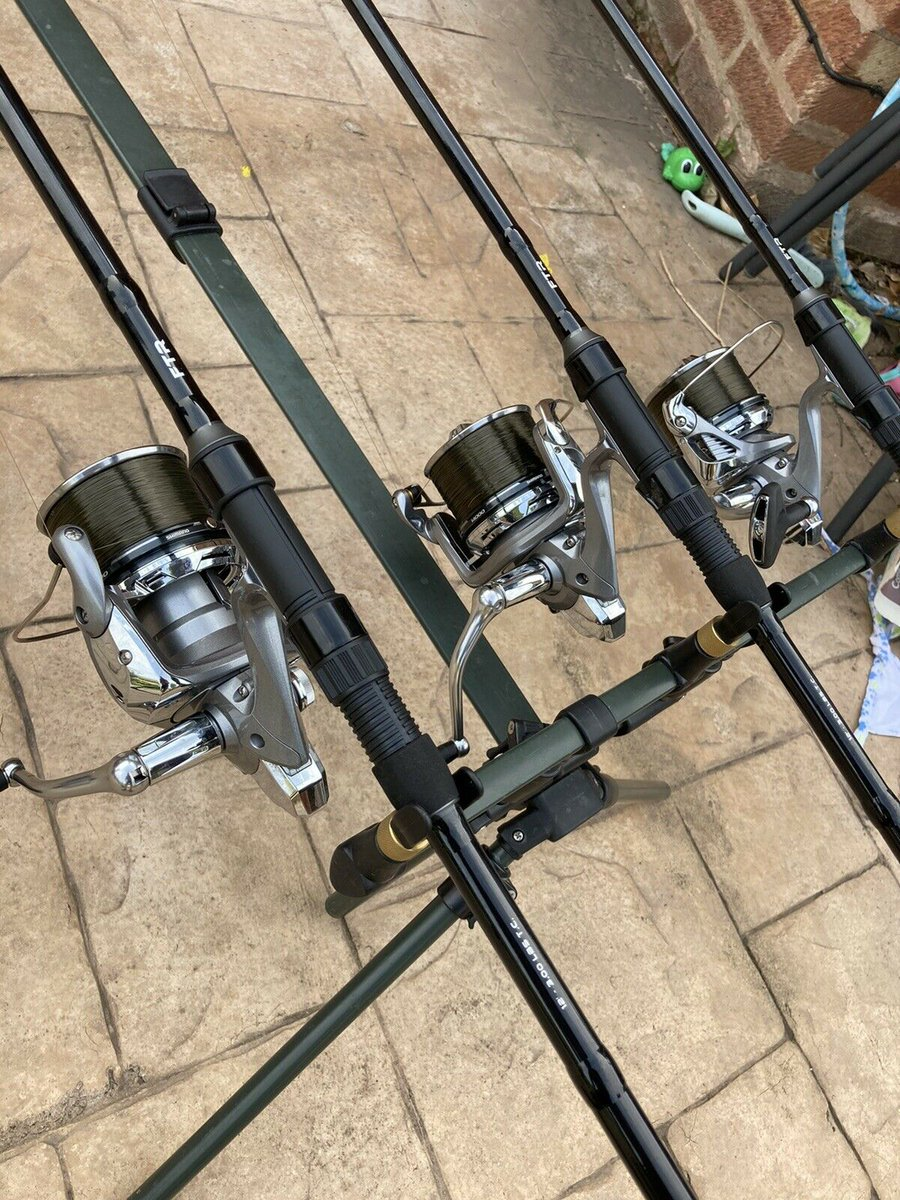 Ad - Shimano 1400 Xtd Full Setup With Fox Alarms On eBay here -->> https://t.co/FWb6a5CEIa  #c