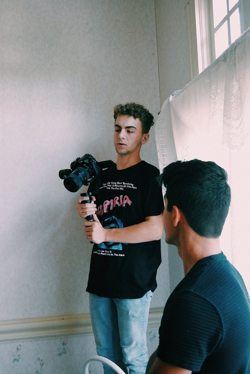 Harrison School for the Arts 2020 grad Josh Ceranic is a finalist in this year's Emerging Filmmaker Showcase at the Cannes Film Festival. His horror comedy,
