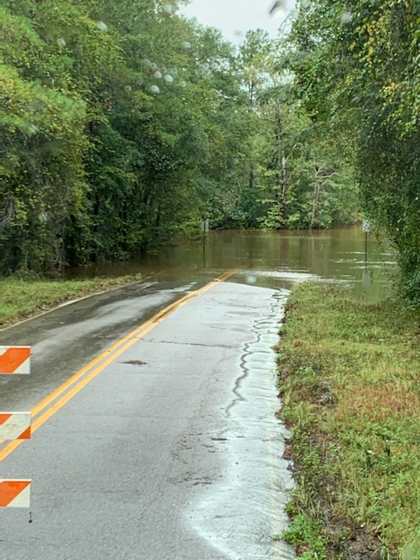 Flooding on Laird Road in Mossy Head.