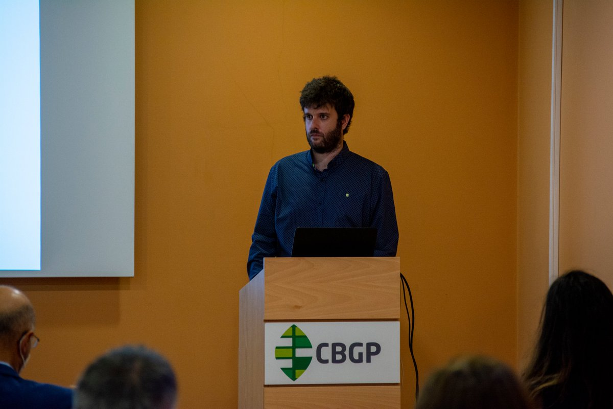 "test Twitter Media - 📸 Some photos of Victor Ortega Campayo defending his thesis at CBGP.  📝 ""Understanding pathogenicity-related mechanisms in the rice blast fungus Magnaporthe oryzae""  #somosUPM https://t.co/8A2RkCrmN6"