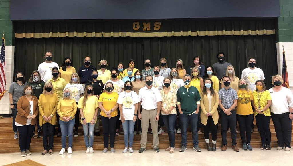 RT @GMSWolfpack: Greenbrier Middle is going Gold for Childhood Cancer Awareness.  #bigenough