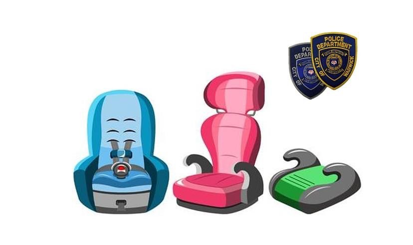 Sgt. Johnson will be at headquarters tomorrow from 8-11 to help with your car seat installations .