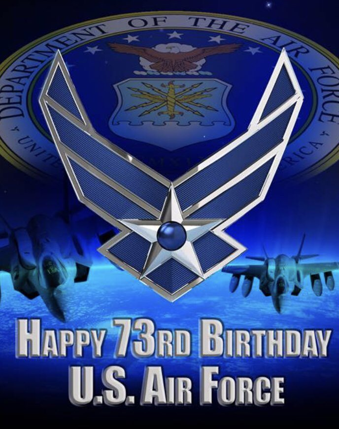 Happy birthday today to the world's greatest Air Force! To those of you who went into the wild blue yonder .... Aim High! Nothing can stop the U.S. Air Force! #polksheriff #airforcebirthday #aimhigh #wildblueyonder #USAF73