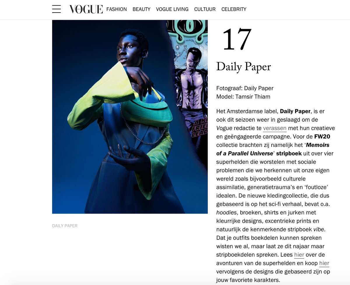 test Twitter Media - De mooiste modecampagnes van het Herfst/Winter 2020 seizoen according to @NLVogue @dailypaper   https://t.co/f628cPNWfQ https://t.co/PnwEEfsVlc