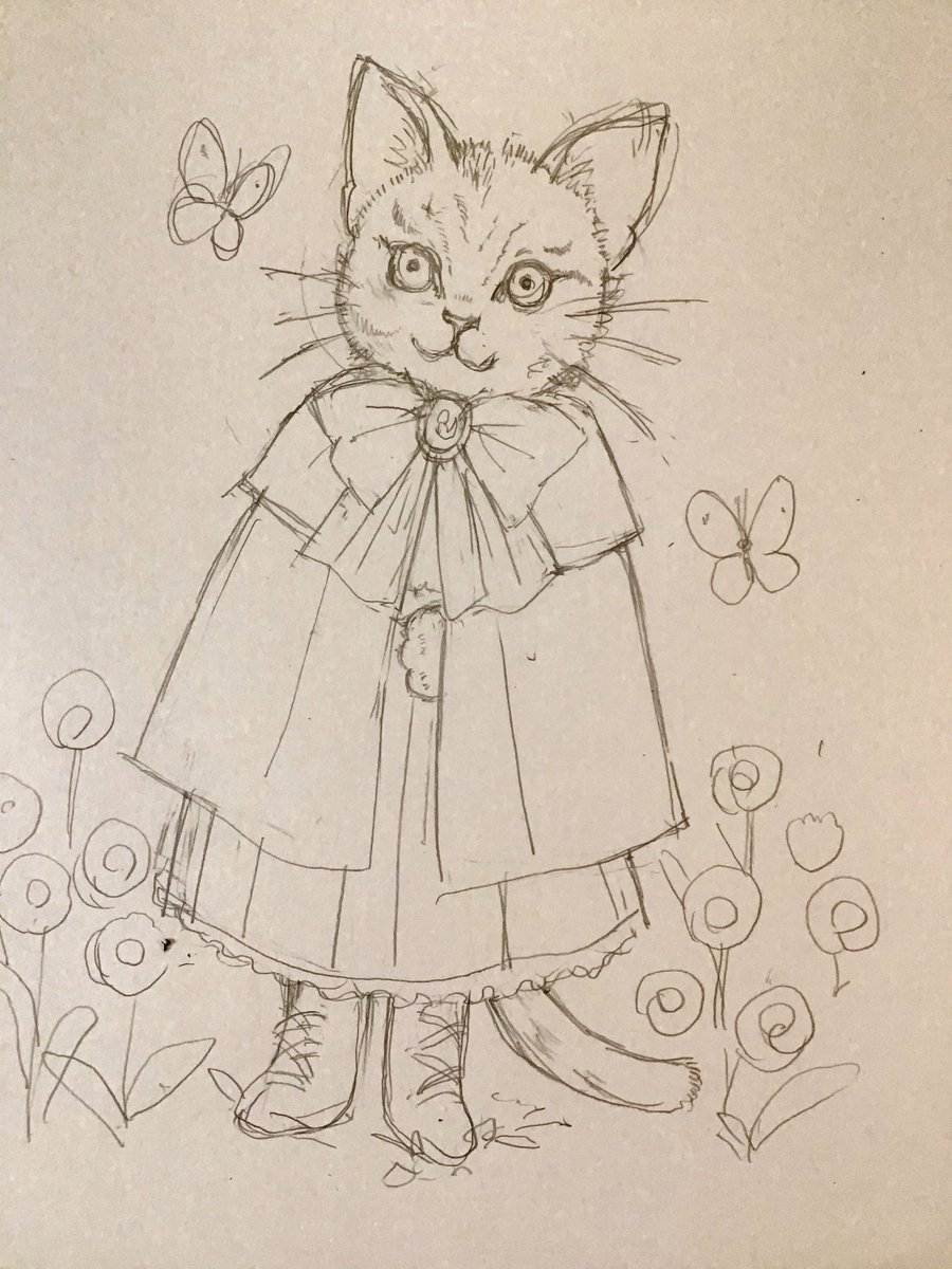 test ツイッターメディア - にゃんこに服着せると ますむらひろしさんか ヒグチユウコさんに なってしまうのにゃー。 どっちらも 大好きだからしかたないよね〜 。。。もうちょっと考える  #絵描きさんと繫がりたい #ネコの絵 #猫 #ヒグチユウコ #ますむらひろし https://t.co/Z21W9qpTfk