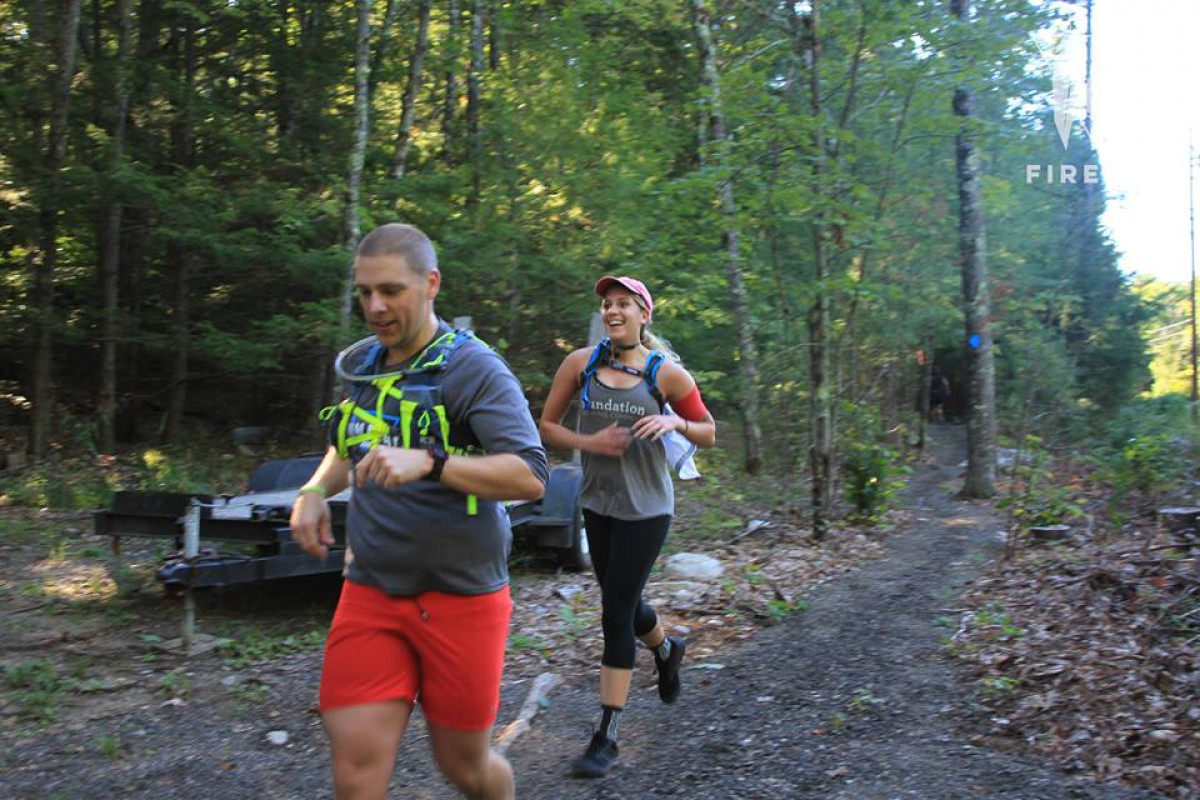 Heads up! There will be a 50K race coming through the Cumberland trail systems (Rines Forest and Knights) between 8am-12pm this Saturday, September 19th. 👟🌳