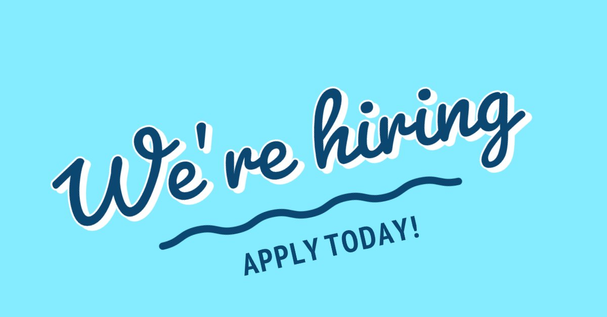 The Monticello Community Center is hiring! We're accepting applications for part-time guest service associates, lifeguards, and water safety instructors. Find more information at