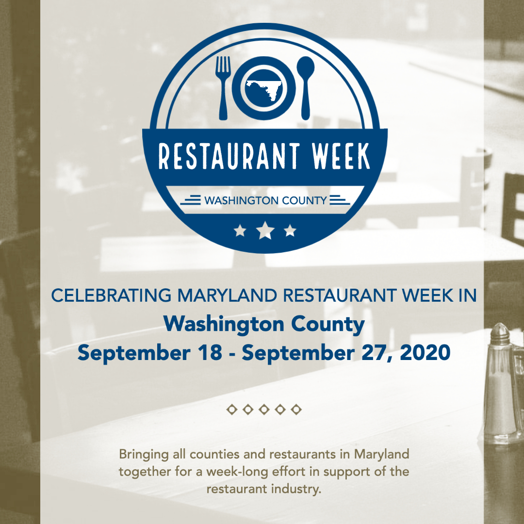 Who's ready to eat? 🥗🌮🍤🍝🍔🍟 Today kicks off Maryland Restaurant Week and we have several Washington County restaurants participating! Check out who's in by visiting .