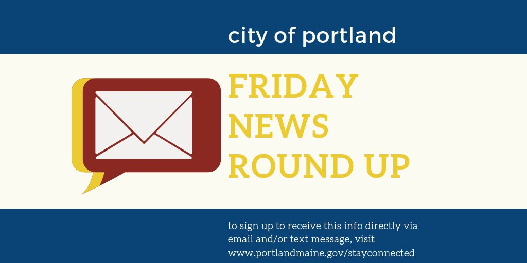 Our Friday News Round Up for September 18 is now available:  #portlandme