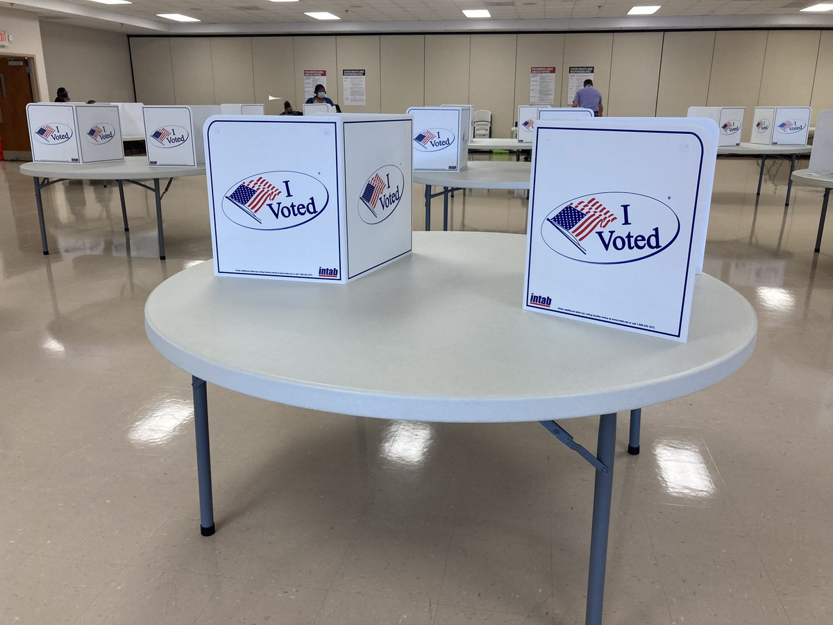 Over 250 Pittsylvania County citizens have already cast their vote during the first day of early voting. Any registered voter can cast their vote at the Olde Dominion Agricultural Complex Monday-Friday from 9 a.m. to 5 p.m. through Oct. 31.