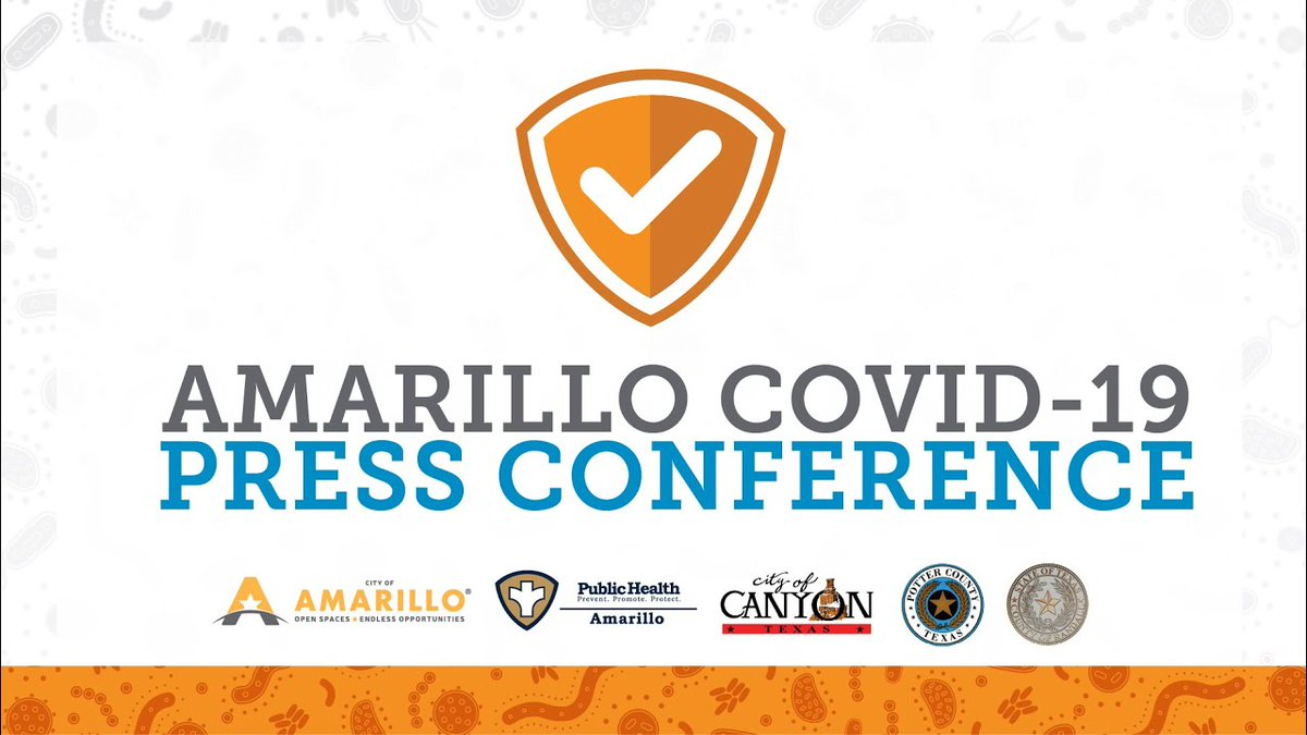 This morning at 10 a.m. the City of Amarillo will hold a press conference pertaining to COVID-19 regulations and guidelines announced yesterday (September 17) by the governor's office.   Watch the livestream on at  or at .